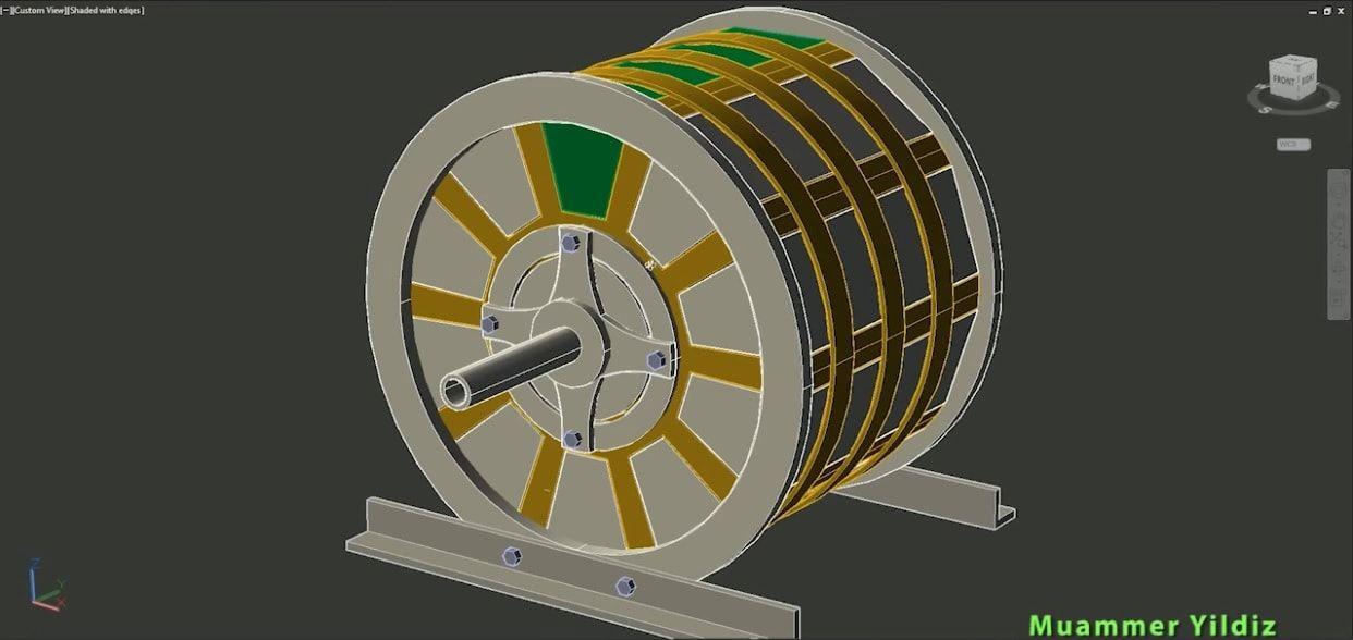 Motor Free Energy Generator build yourself 2019