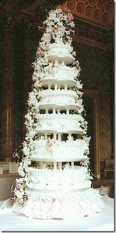 prince andrew and sarahs wedding cake