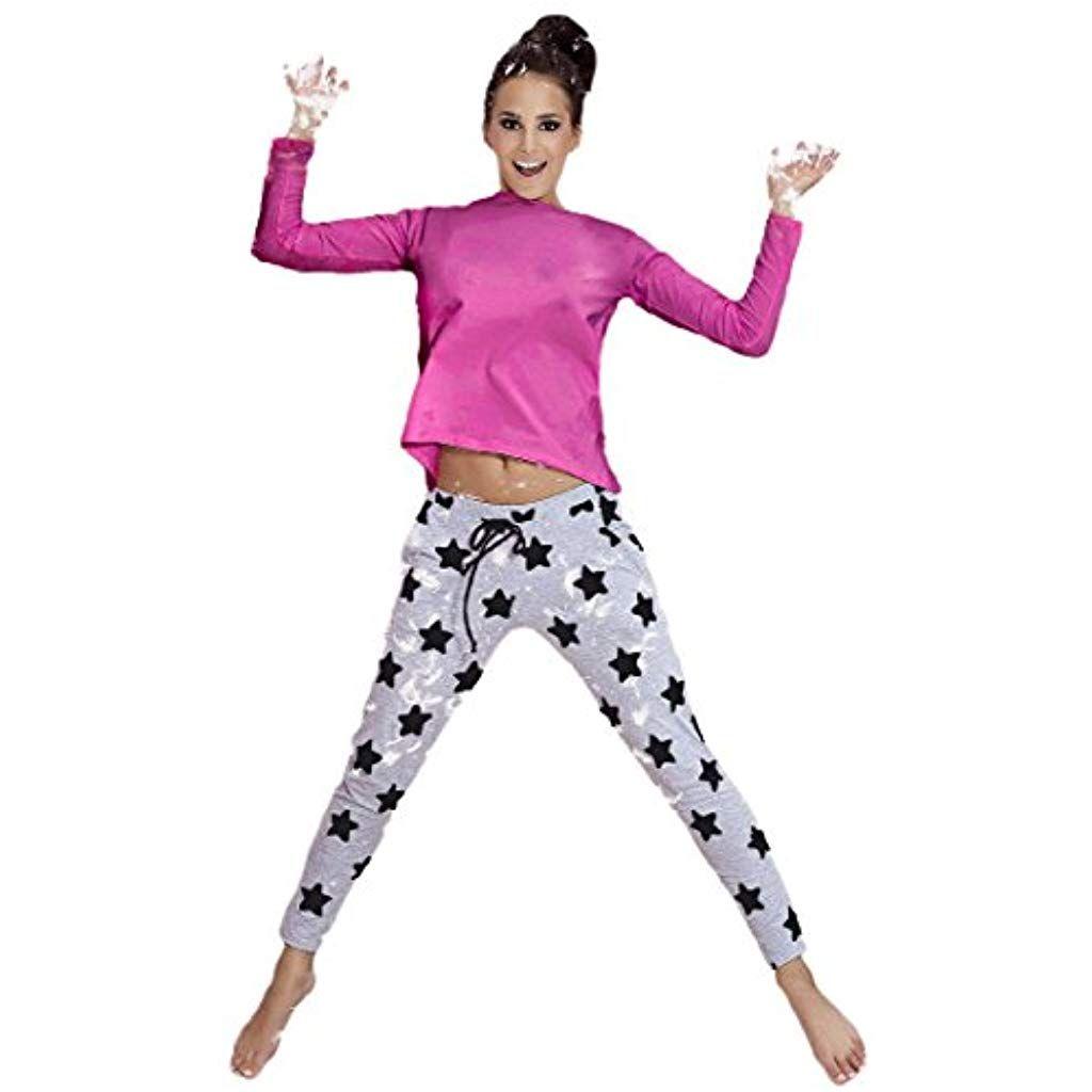 promo code 5deea 26434 PIGEON Lingerie charmanter Baumwoll-Pyjama Hausanzug aus ...