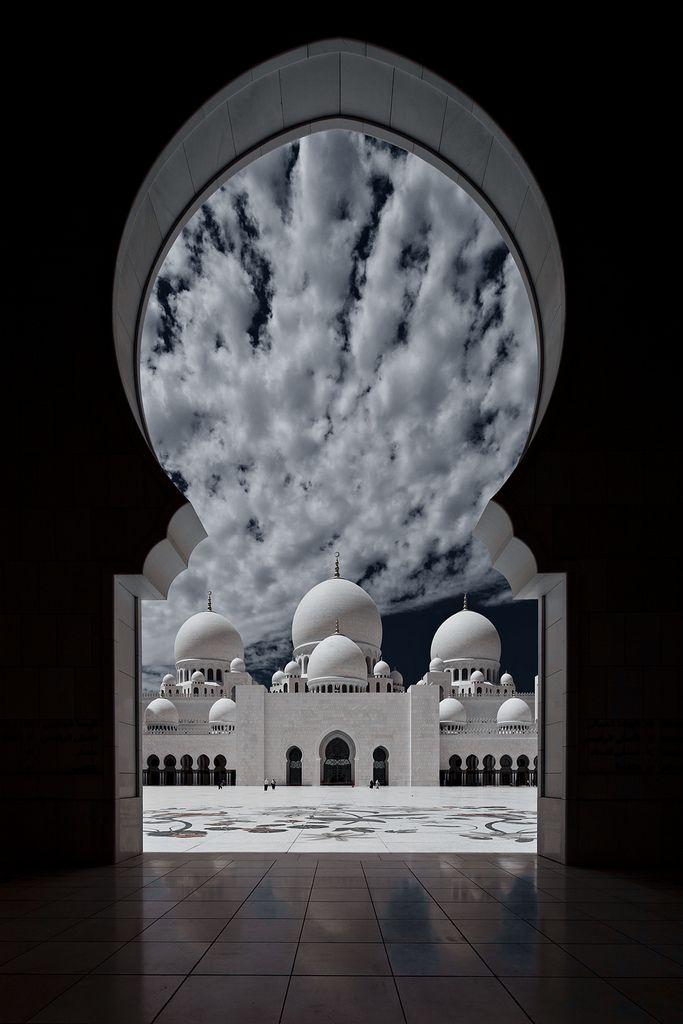 Sheikh Zayed Mosque United Arab Emirates Islamische Bilder Bilder Moschee