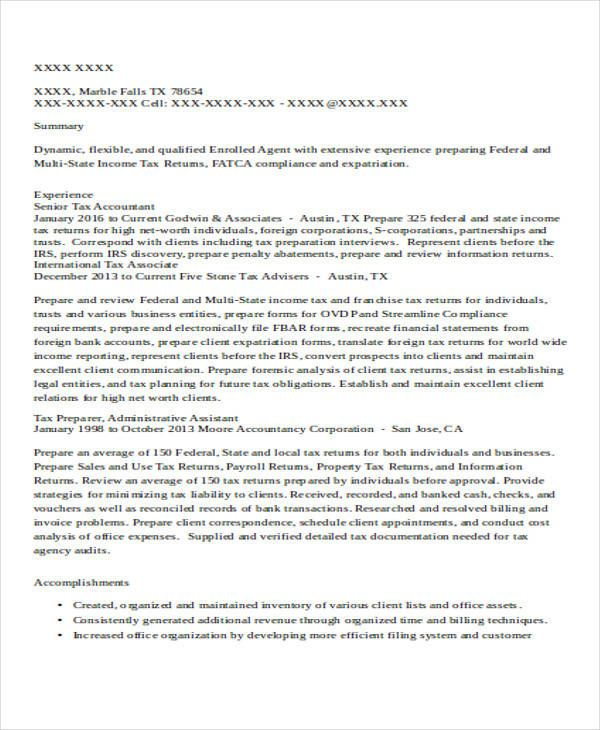 accountant resume samples sample professional Home Design Idea - accountant resume samples