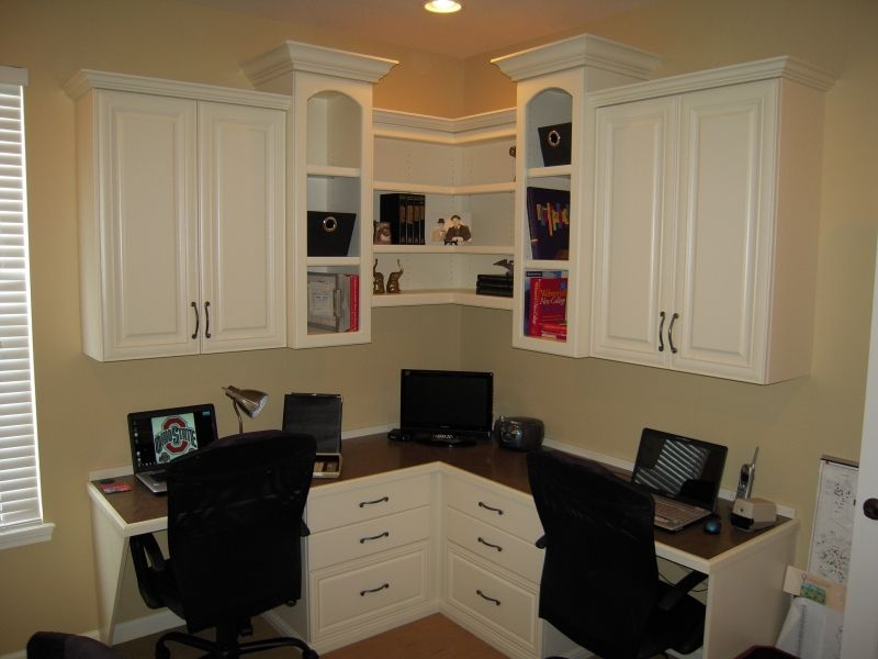 "Home Office for two from ""Creating the Perfect Home Office"