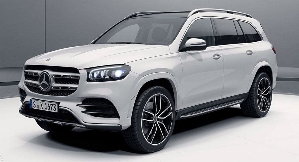 2020 Mercedes Gls New Photos Of Full Size Suv Coming For Bmw X7