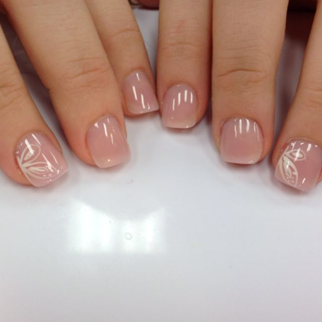 #butterfly #simple #solar #nails #cute #gel #and #on ...