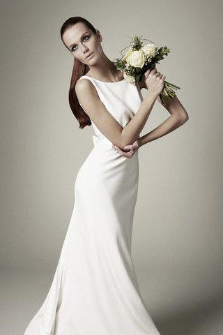 19601 Sandwashed Silk Fabric Colour Ivory Description 1960s Style Wedding Dresses