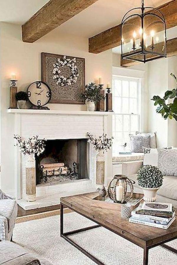 Beautiful Elegant Modern Farmhouse Living Room Decor Ideas And Makeover 29 Farm House Living Room Farmhouse Decor Living Room French Country Living Room