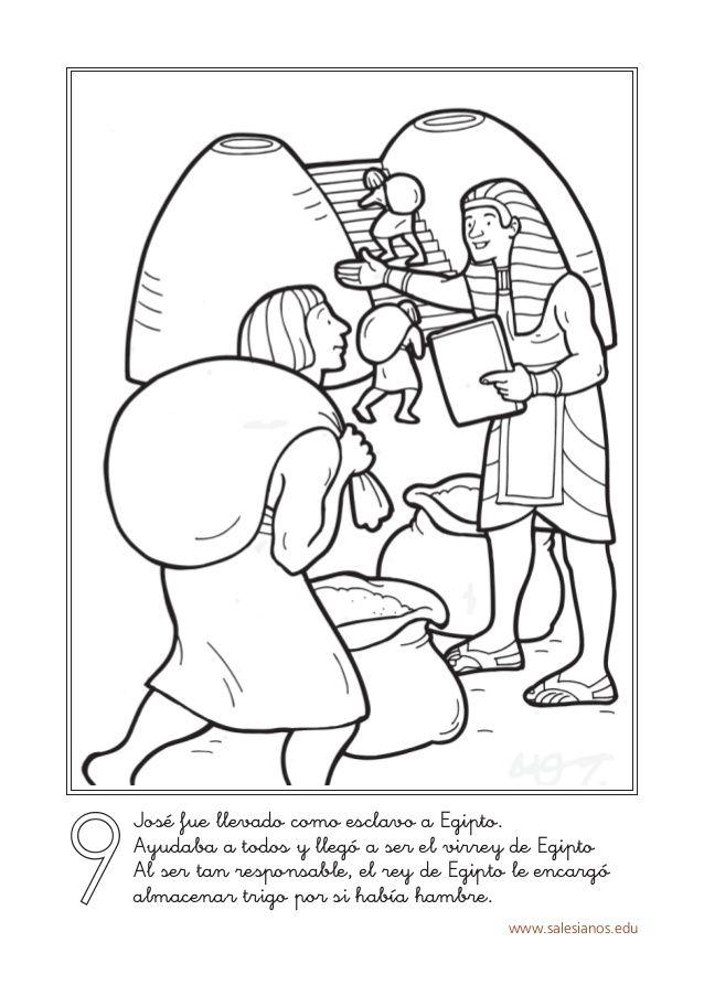 www.salesianos.edu 9 José fue llevado como esclavo a Egipto. Ayudaba ...