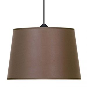 suspension de plafond uma marron taupe luminaire tendance id al pour illuminer moindre co t. Black Bedroom Furniture Sets. Home Design Ideas