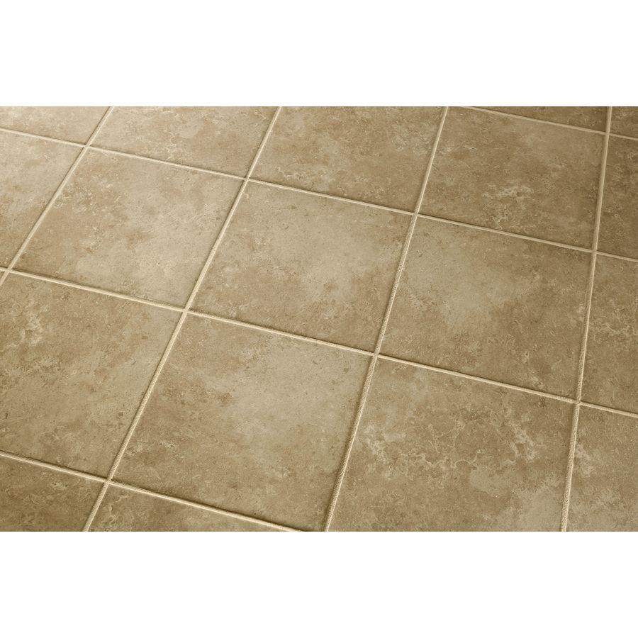 Shop Style Selections Pinot Beige Ceramic Indoor/Outdoor Floor Tile ...