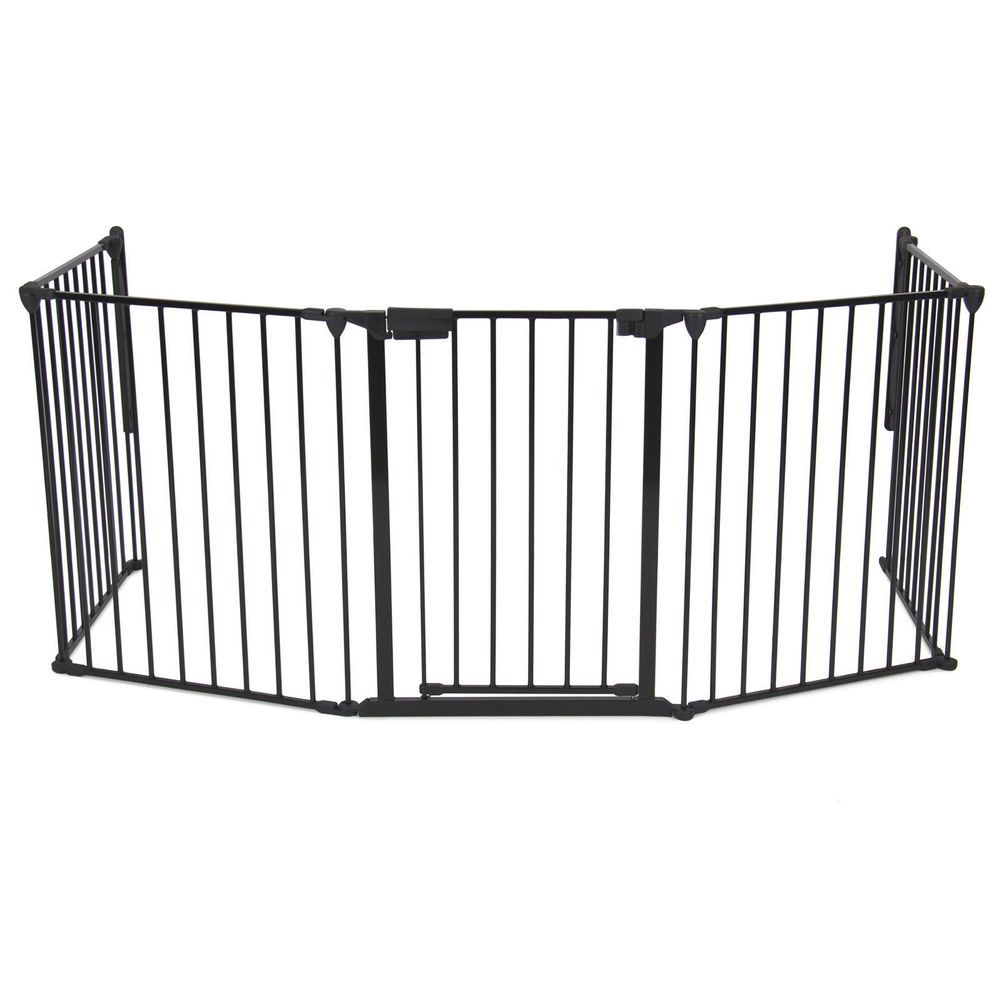 Extra Wide Baby Safety Gate Retractable Dog Fence Door Pet Infant Thru  Child #JustinsDiscountDeals
