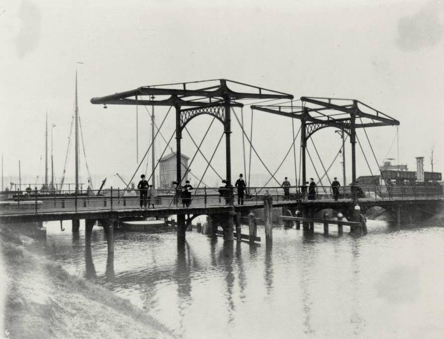 Trambrug (ophaalbrug) 1890