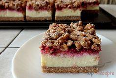 Ein sehr beliebter Kuchen mit Quarkfüllung. Den Teig einfach grob raspeln, denn so entsteht eine schöne Oberfläche, die man nur noch leicht mit Puderzucker bestäubt. Erfrischende Himbeeren verleihen dem Kuchen einen fantastischen Geschmack.