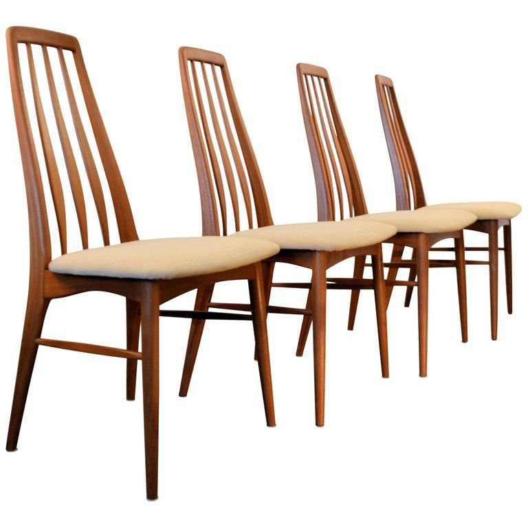 Set Of Four Koefoeds Hornslet Dining Room Chairs Niels Koefoed