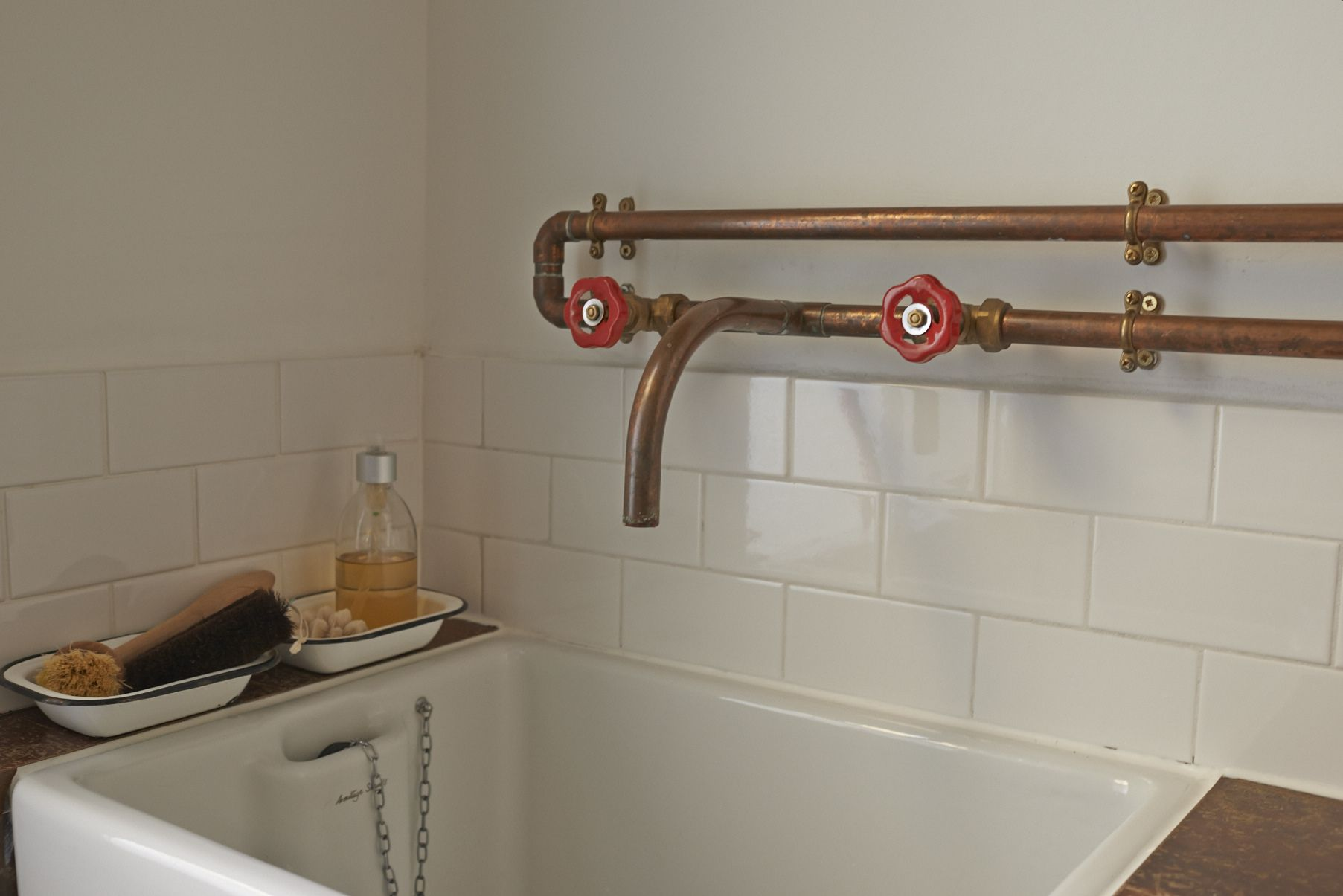 Copper Taps Copper Taps Copper Faucets Dans La Cuisine Pinterest