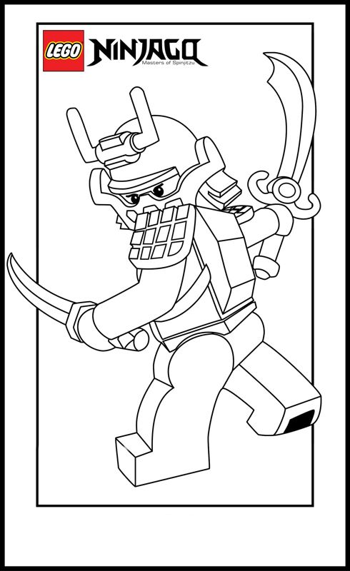 Lego Ninja Go Coloring Pages 4 Fun with kids Pinterest Lego - new easy lego coloring pages