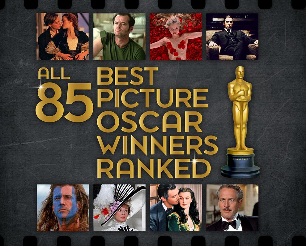 All 90 Best Picture Oscar Winners Ranked | movies, music