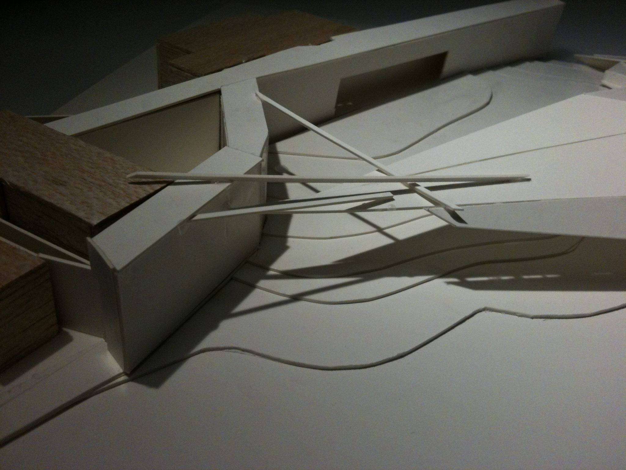 #GHOSTintheMACHINE /// the aggressive takeover  #architecture model.