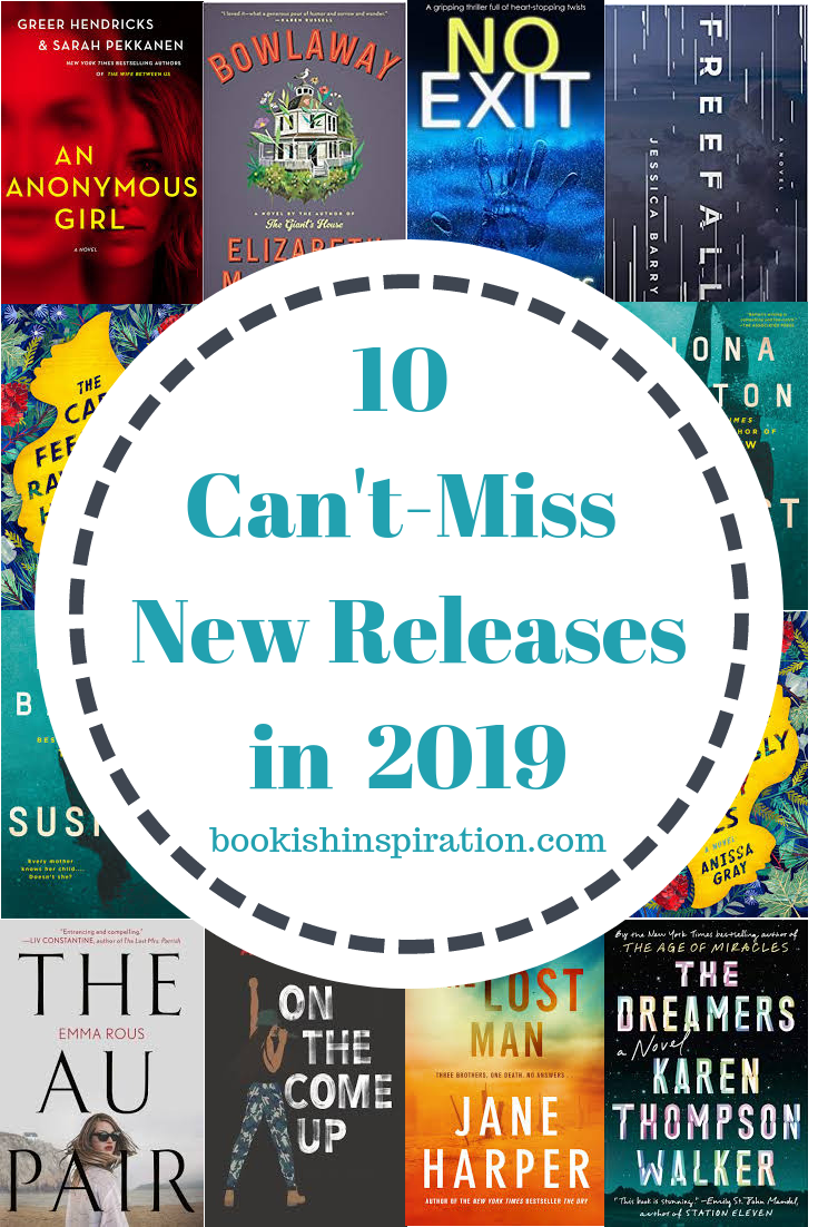10 New Book Releases I Can't Wait to Get My Hands On is part of Top books to read, Best books to read, Book release, Book blogger, New books, Book worth reading - 2018 just wrapped up and it was a great reading year for me! I got to read so many good books that were recommended to me by my friends on bookstagram  Click here for my list of 27 four and fivestar books of 2018  2019 is already gearing up to be another great reading year  I have been hearing all about the new releases and am chomping at the bit for them to come out! Here are ten of them that will be released this winter that I can't wait to get my hands on This post may contain affiliate links through which I make a small commission when you purchase something   at no additional cost to you! See the Disclosures page for more information  Freefall by Jessica Barry (January 8) Allison Carpenter's small plane crashes into the Rocky Mountains, killing her wellto, CEO fiance  Allison must make it through the wilderness to safety before the men who were chasing them can find her  Meanwhile, Allison's estranged mother, Maggie, hears of her daughter's crash and is determined to find out what happened  Can she find Allison in time  An Anonymous Girl by Greer Hendricks and Sarah Pekkanen (January 8) …