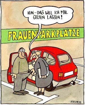 frauenparkplatz - http://www.juhuuuu.com/2013/12/22/frauenparkplatz/