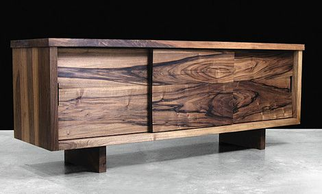 Modern Solid Wood Furniture from Hudson Furniture, in Claro Walnut