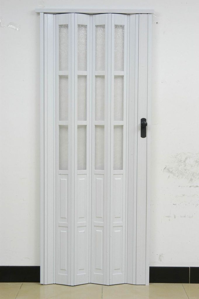 Pvc Accordion Door For Bathroom Future Projects Pinterest