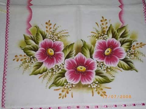 Resultado de imagen de lminas de flores para pintar en tela