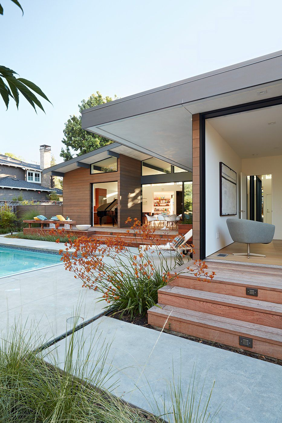 Los Altos New Residence Modern Style Homes Architecture Modern House Design