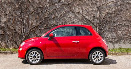 Harmonize with your surroundings. #FIAT500