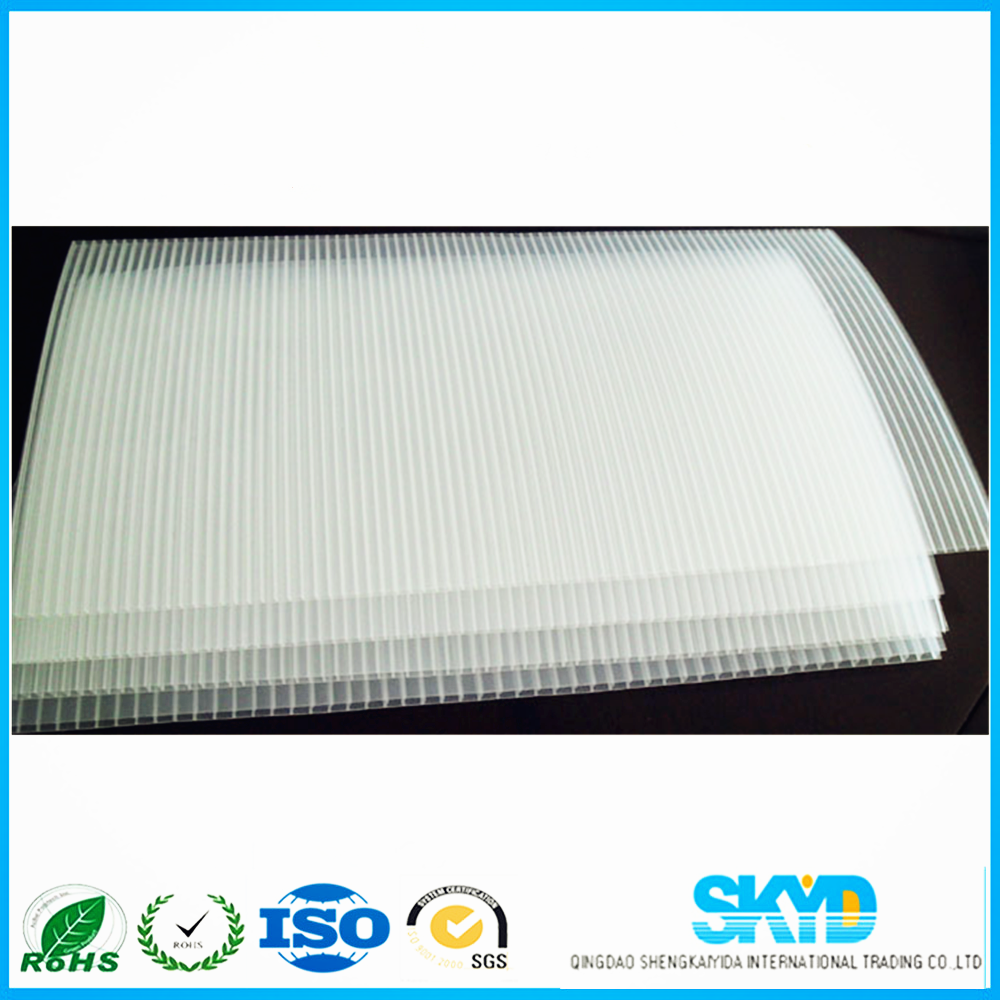 Virgin Material Pp Plastic Corrugated Board 0 5mm 1mm 2mm 3mm 4mm 5mm 6mm Corrugated Board Corrugated Plastic Corflute