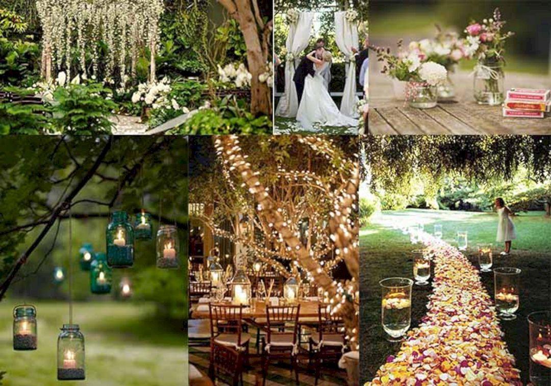 Backyard Wedding Decorations 55+ best backyard wedding decoration ideas on a budget | backyard