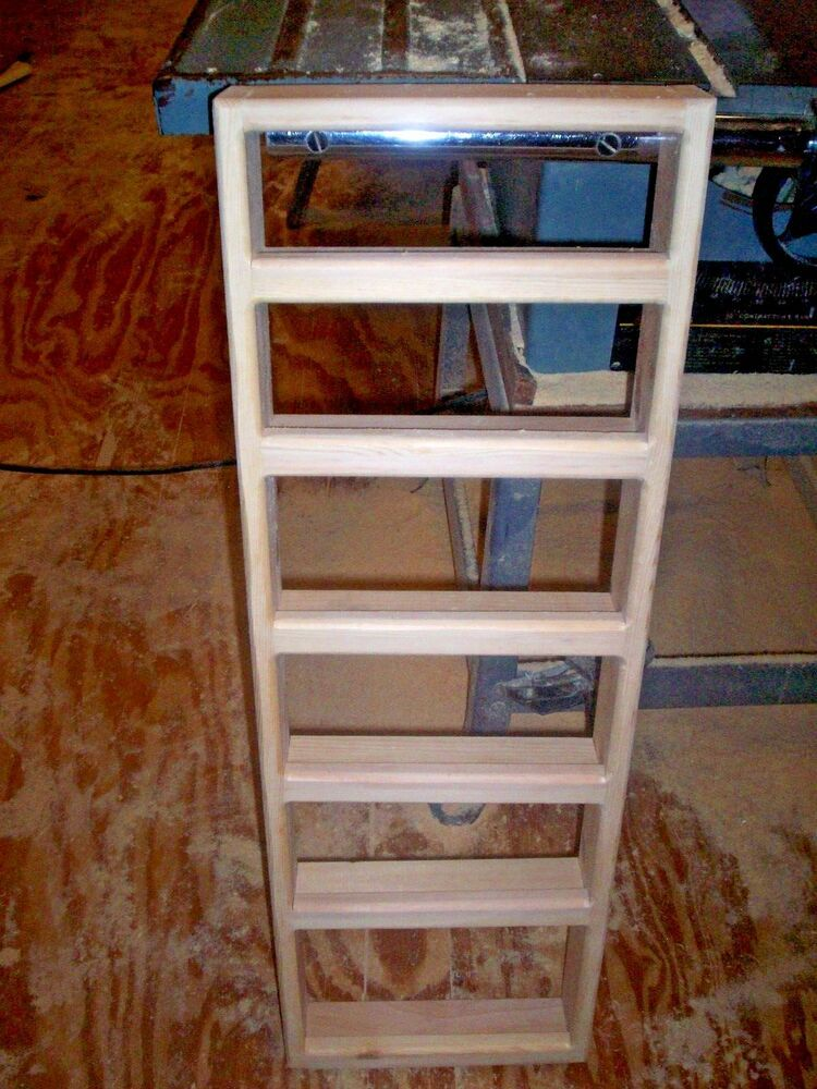 6 Shelf 12 X 36 Solid Pine Wood Spice Rack Wall Mount With 2 Inch Working Shelf Handmade Wood Spice Rack Shelves Wall Mounted Spice Rack