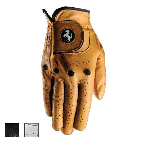 Ferrari Golf Glove (#FRGO3003R) Quality leather glove #fairwaygolfusa