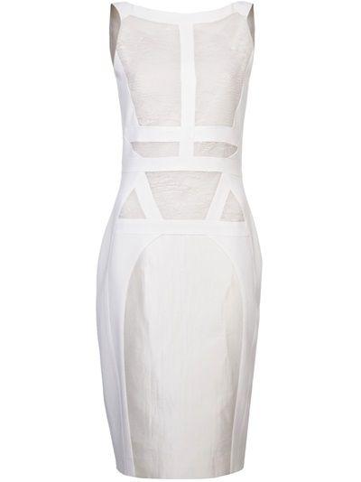 ANTONIO BERARDI - Detailed front straight dress 6 | Dresses ...