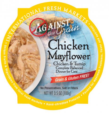 Against the Grain Chicken Mayflower with Turnip Dinner Wet