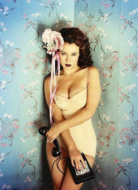 "pussylequeer: "" Jennifer Tilly by David LaChapelle """