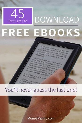 45 Best Sites to Download Free eBooks Legally (Some Without Registration!) - MoneyPantry