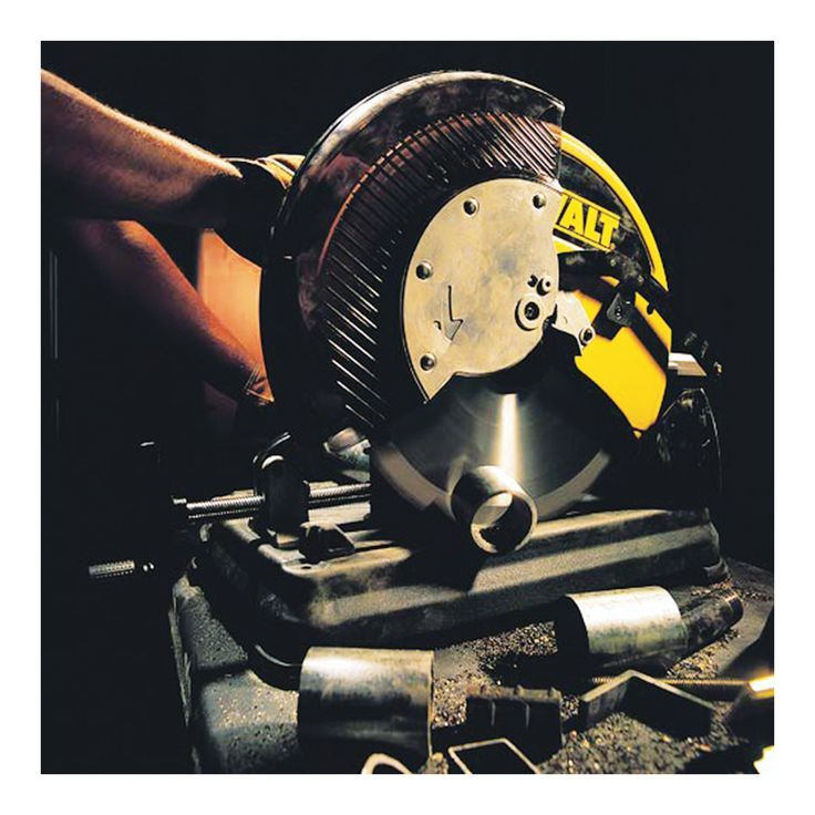 The DEWALT Multi-Cutter Saw offers versatility by cutting a wide variety of materials including ferrous and non-ferrous metals, cutting 4X faster than chop saws and 8X faster than portable band saws in 2in. x 2in. x 1/4in. angle iron. Utilizing a carbide