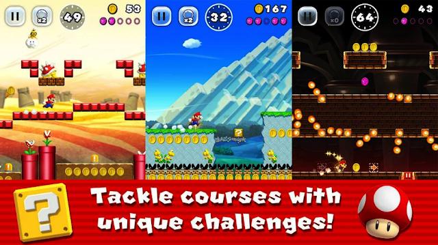 تحميل لعبة سوبر ماريو رن Super Mario Run بآخر إصدار لأجهزة الأندرويد والآيفون 2020 Super Mario Run Mario Run Super Mario