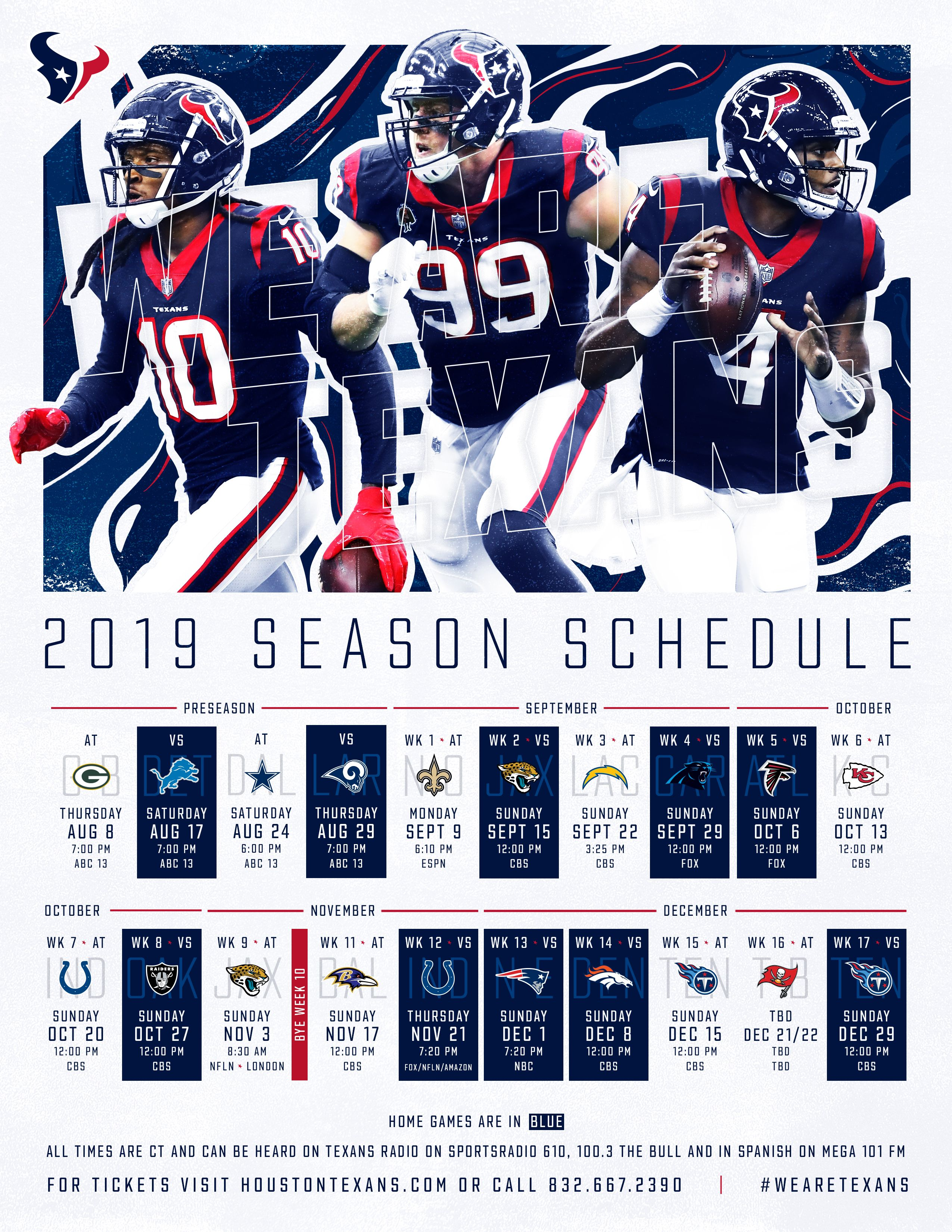 Pin by NFL Football on CHC/Rocket Nfl season schedule