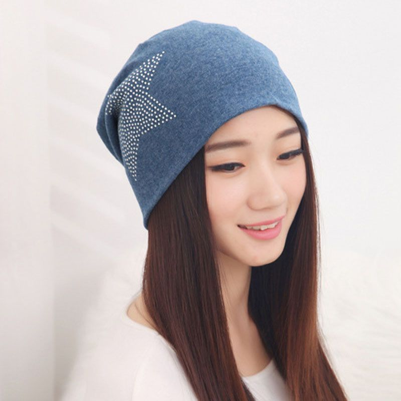 Kids Boy Hat Solid Color Seamless Stretch Hip Hop Beanie Hat  Autumn Winter New
