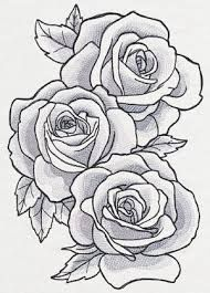 Resultado De Imagen De Tattoo Rose Design Desenho De Rosas