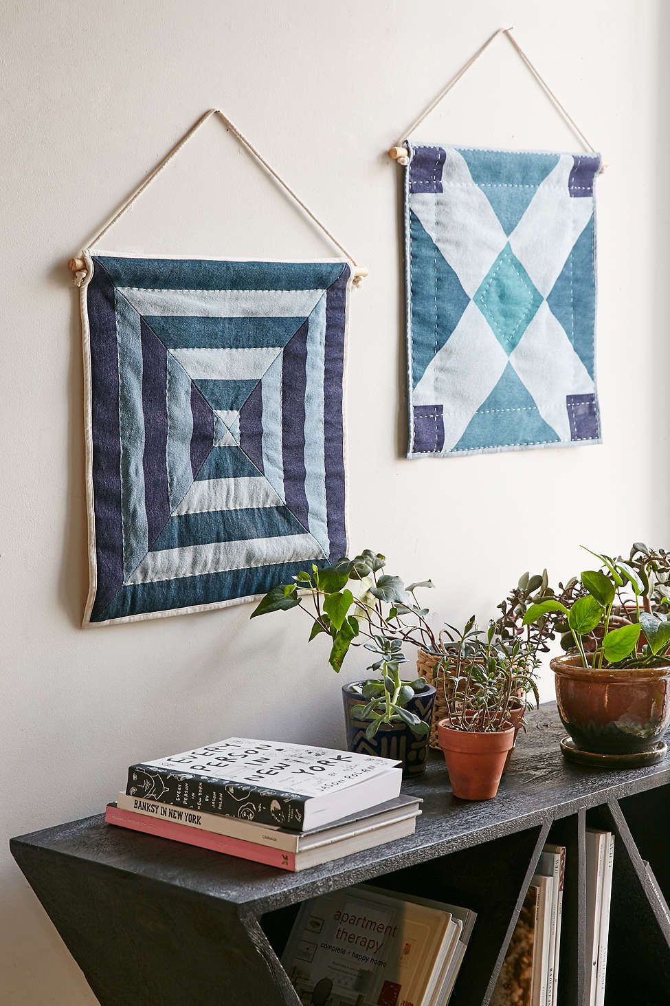 4040 Locust Ambrose Quilted Wall Hanging Macrame Wall