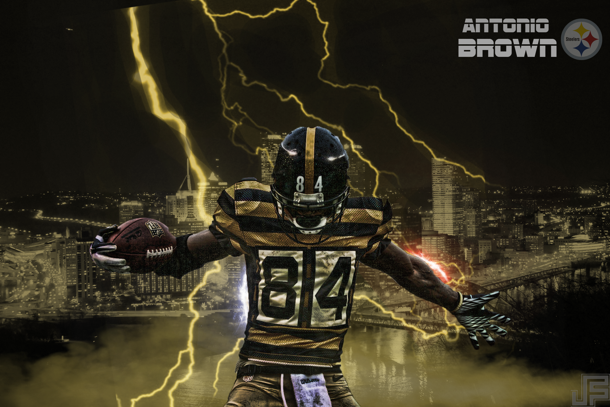 Antonio Brown Hd Wallpapers Backgrounds Wallpaper Abyss