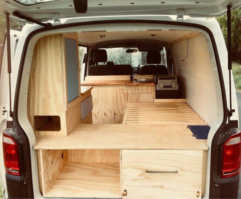 Camper Idea T9  Minivan camper conversion, Van conversion