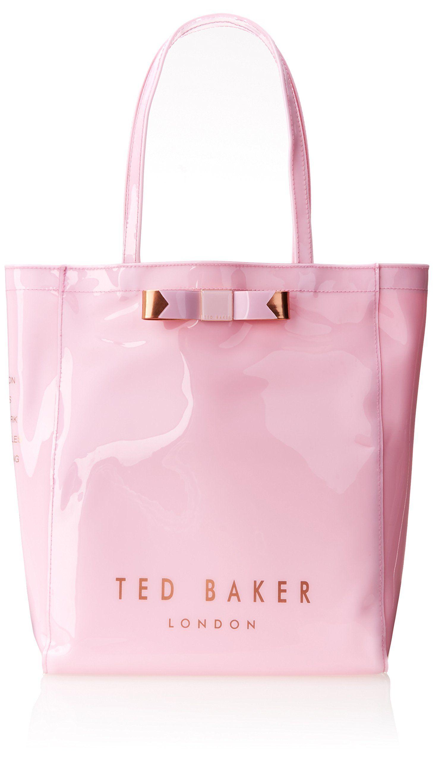 Ted Baker Plain Bow Icon Shoulder Bag Black One Size