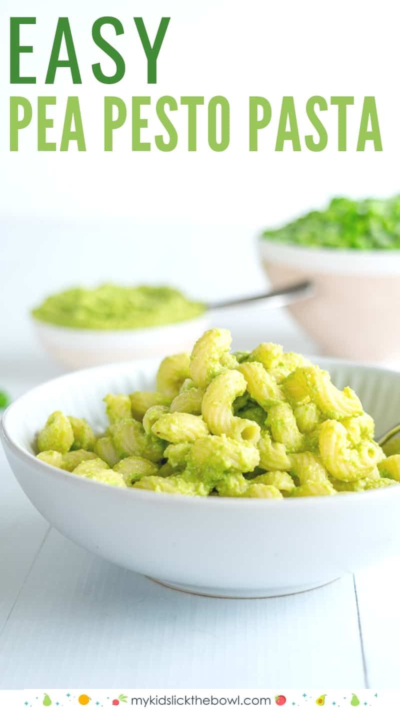 Easy Pea Pesto images