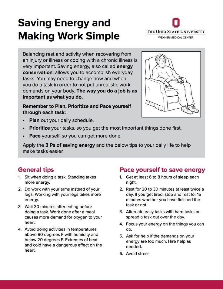 Saving energy and Making work simple from OSU Wexner Medical - occupational therapist resume