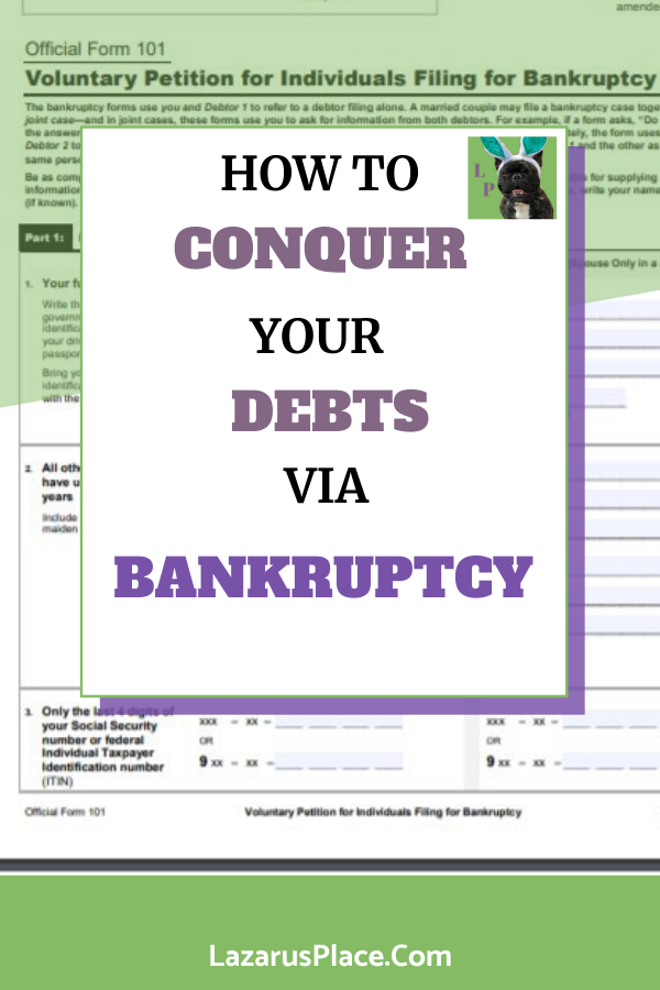 Bankruptcy Tips Pros And Cons On Bankruptcy Payday Loans Payday Instant Payday Loans