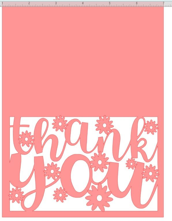 Download Free SVG Files | Thank you card design, Cricut cards ...