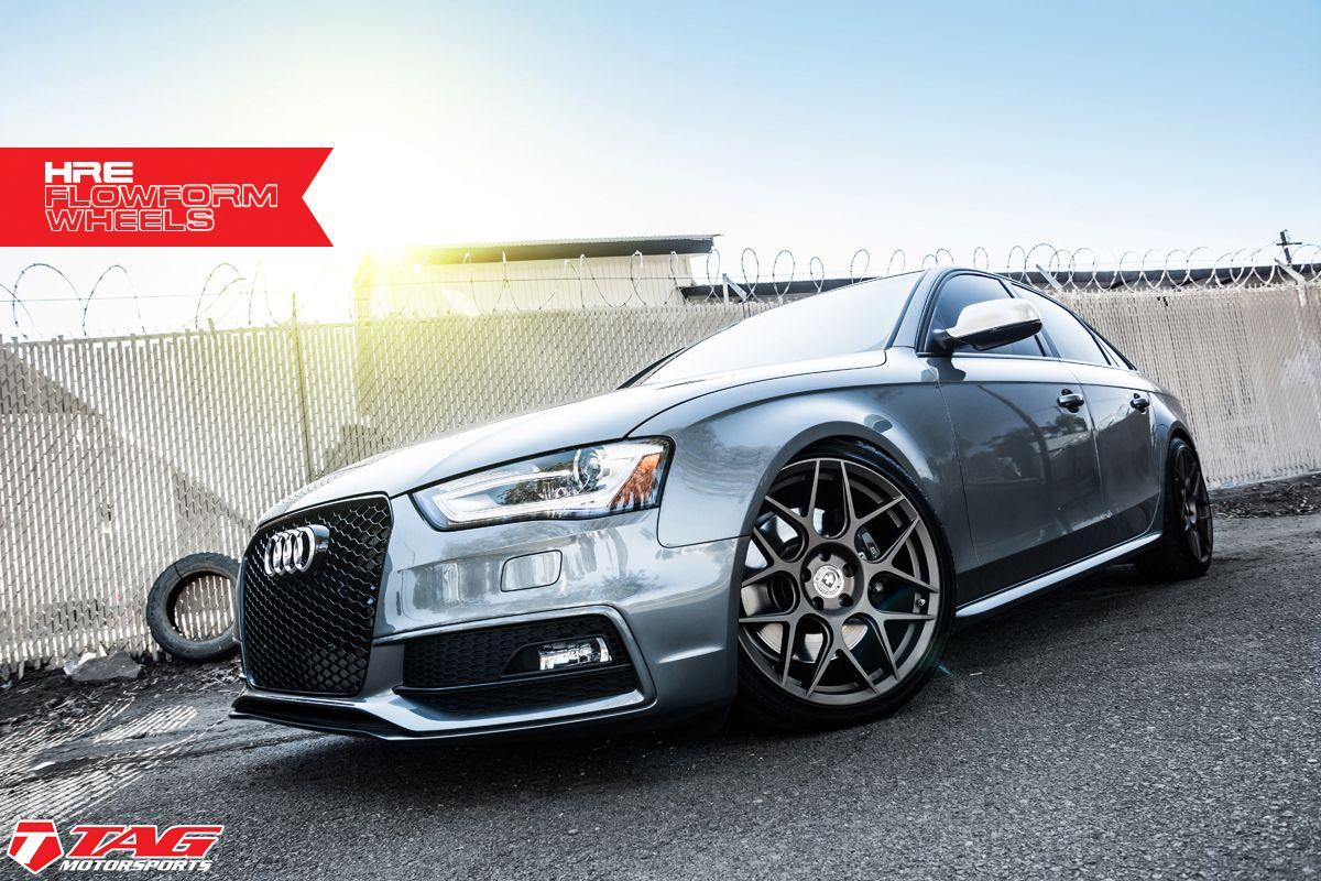 Bronze Is The New Black Audi S4 On Hre Flowform In Satin Bronze Tag Motorsports Black Audi Audi S4 Audi